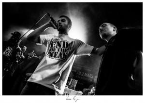 Slimane lors de la finale régionale EOw Ouest 2013 lors du Festival Hip'Opsession Photo Lucas Perrigot