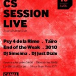 CS session live canalstreet