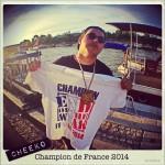 C'est Cheeko du groupe Phases Cachées qui remporte le titre de Champion de France EOW 2014 !