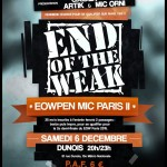 La dernière chance de se qualifier pour le End Of the Weak sur Paris