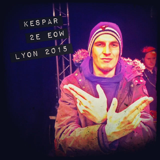 Kespar 2e du End Of the Weak Lyon 2015 !