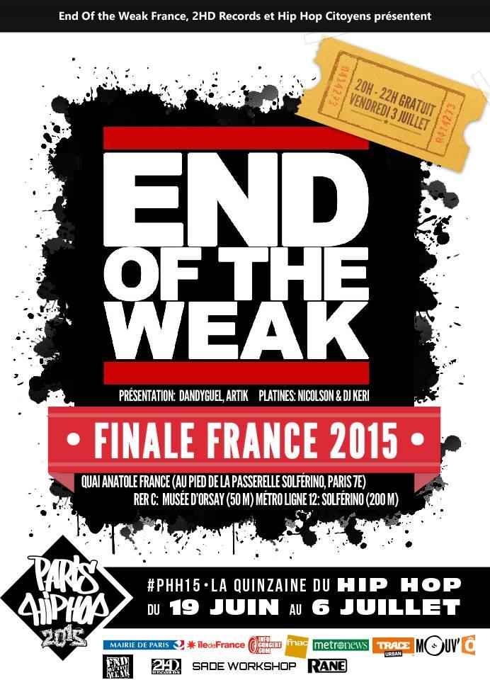 7e Finale EOW FRANCE 2015 ft. RES TURNER... @ Berges de Seine | Paris | Île-de-France | France