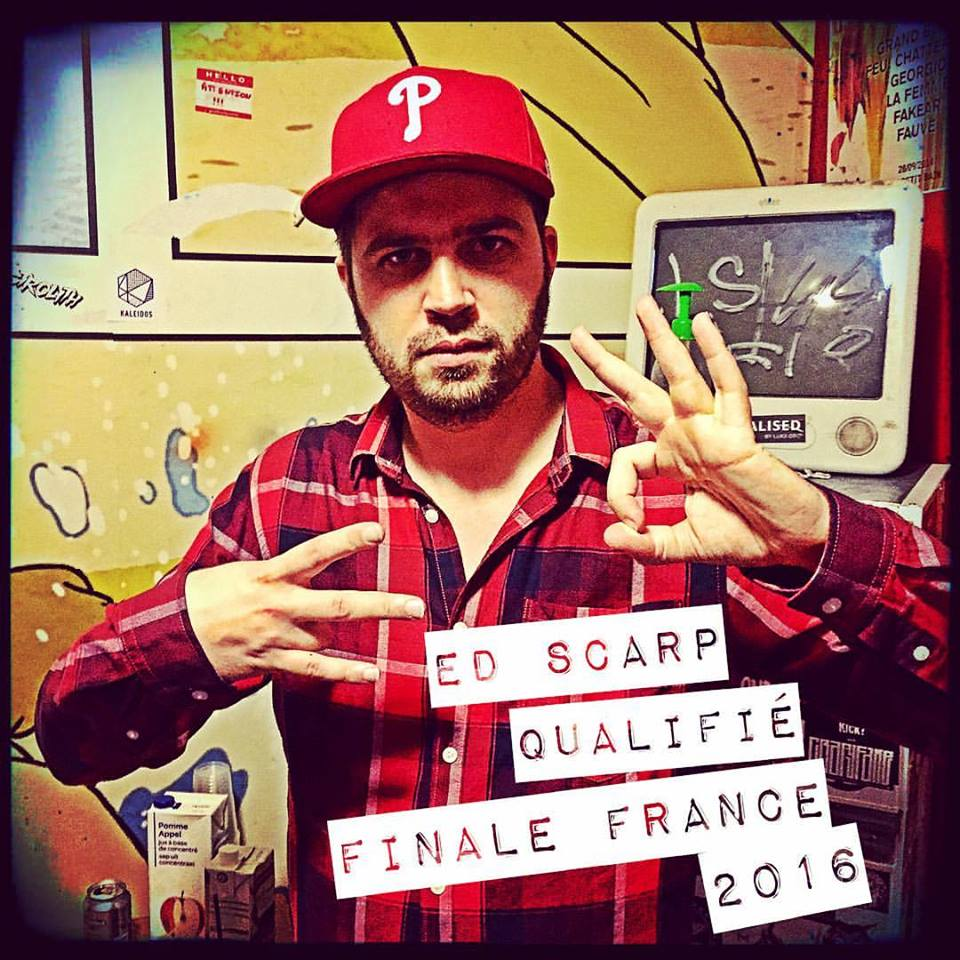 Ed Scarp 1/2 finale France 2016
