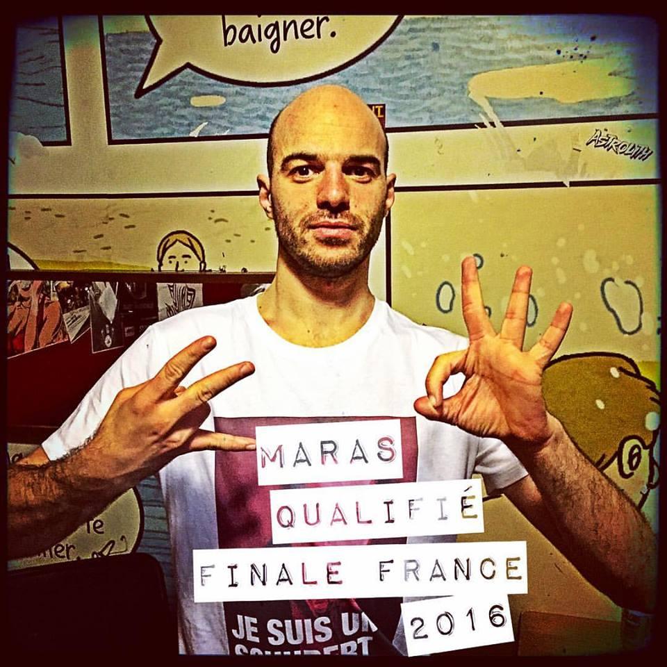 Maras qualifié pour la finale EOW france 2016
